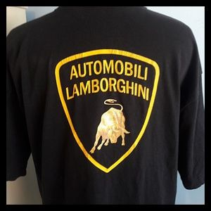 🐃 Vtg. Official Lamborghini Graphic T-shirt